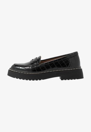 CHUNKY LOAFER - Instappers - black
