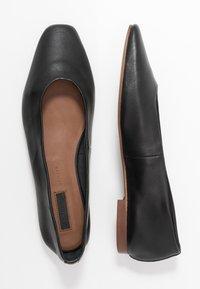 Topshop - LEAH SOFTY BALLET - Baleriny - black - 1