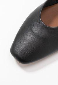 Topshop - LEAH SOFTY BALLET - Baleriny - black - 5