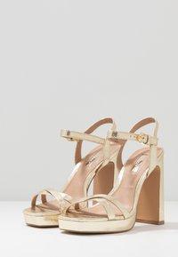 Topshop - SIENNA PLATFORM - High heeled sandals - gold - 2