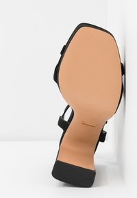 Topshop - SIENNA PLATFORM - Sandali con tacco - black - 6