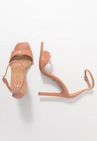 Topshop - SILVY SKINNY PART - Sandales à talons hauts - blush - 3
