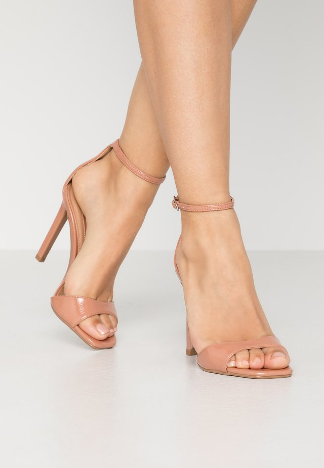 SILVY SKINNY PART - Sandali con tacco - blush