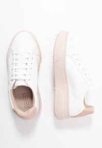 Topshop - CANADA LACE UP TRAINER - Baskets basses - blush - 3