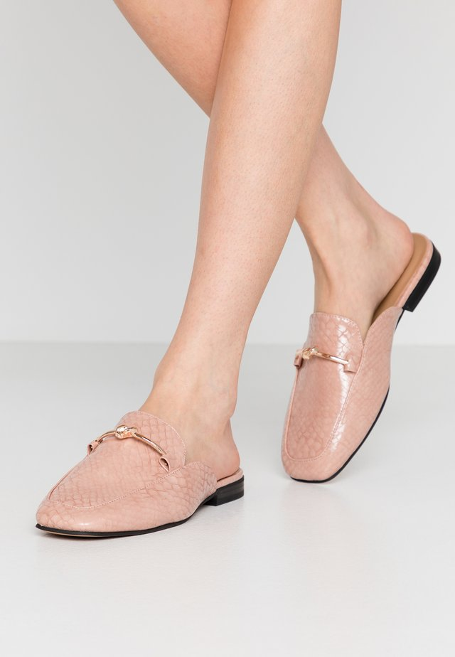 ADA MULE LOAFER - Pantolette flach - pink
