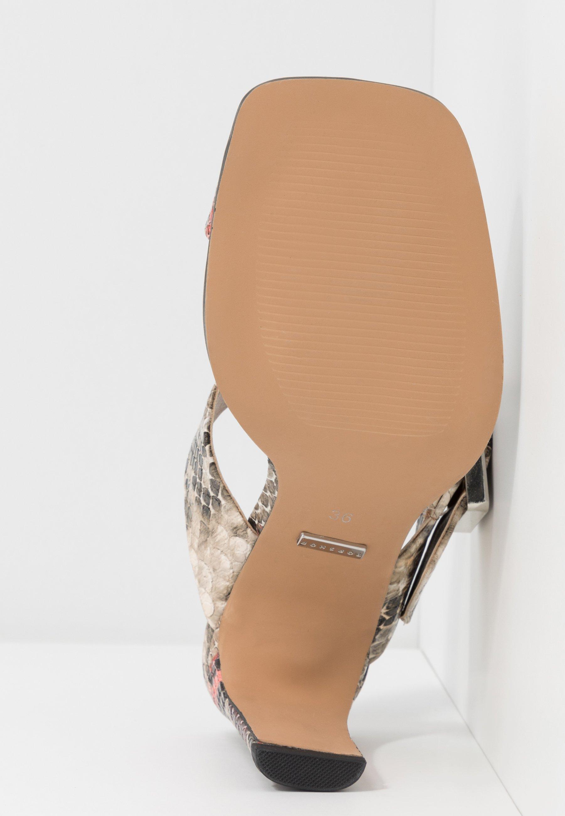Topshop ROBBIE BUCKLE TOE LOOP - Sandaler - multicolor