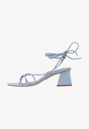 NIKITIA STRAP  - T-bar sandals - blue