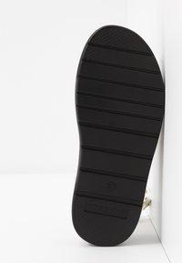Topshop - PRIME CHUNKY  - Platform sandals - clear - 6