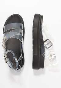 Topshop - PRIME CHUNKY  - Platform sandals - clear - 3