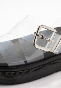 Topshop - PRIME CHUNKY  - Platform sandals - clear - 2