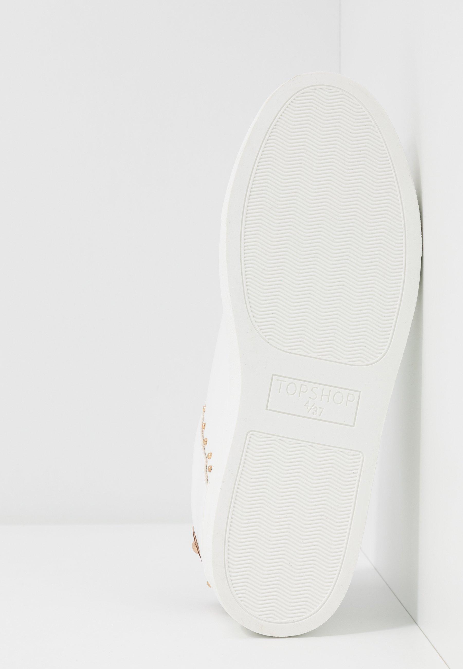Topshop Cyrus Stud - Sneakers Basse White kAepk