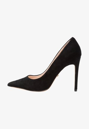 GRAMMER COURT SHOE - Zapatos altos - black