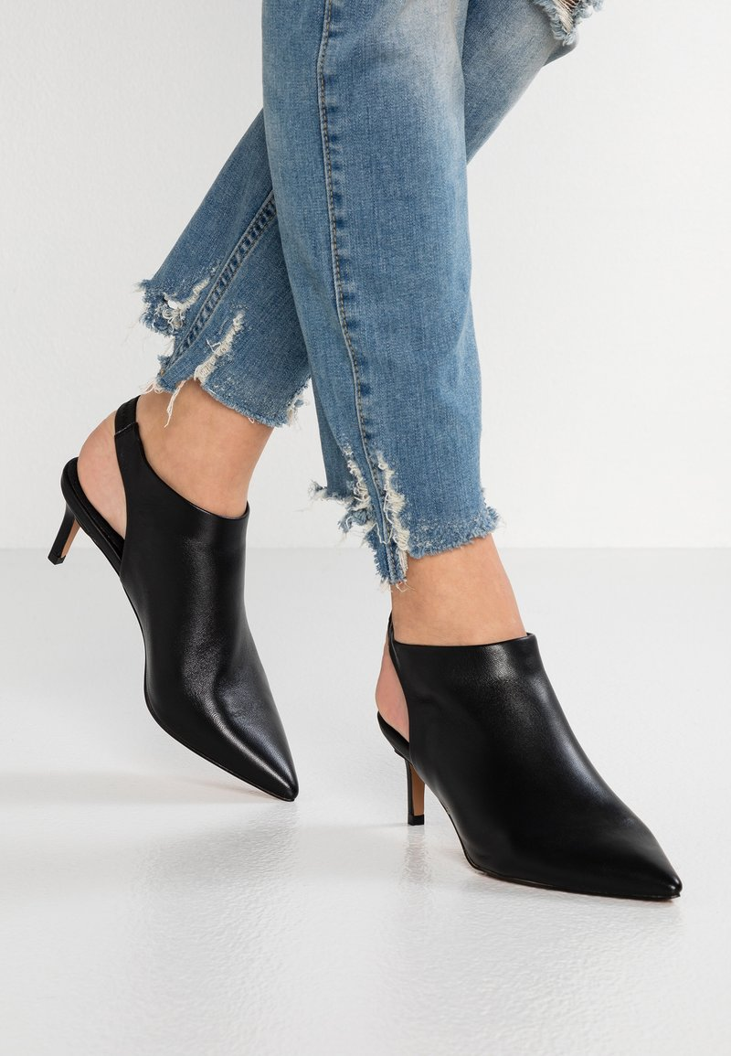 Topshop - JADE POINTED - Ankle boots - black