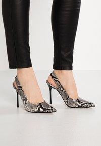 Topshop - GARDEN SLING POINT - High heels - beige - 0