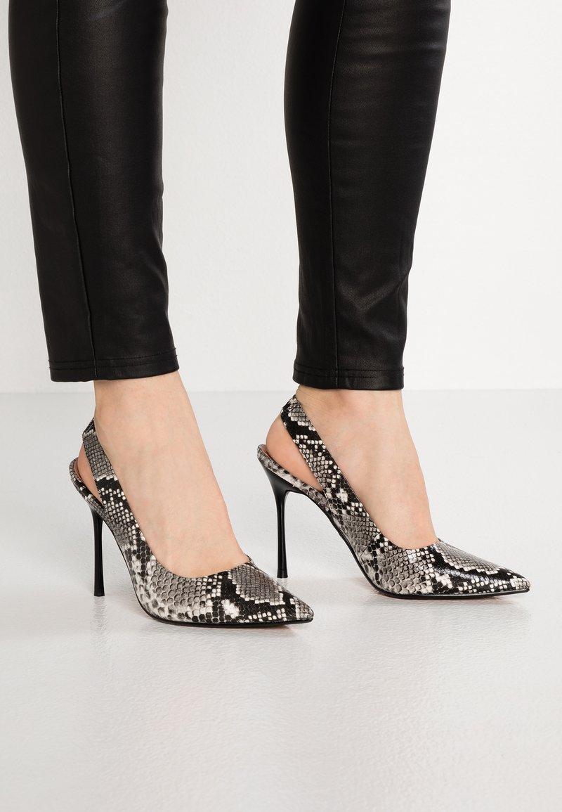 Topshop - GARDEN SLING POINT - High heels - beige