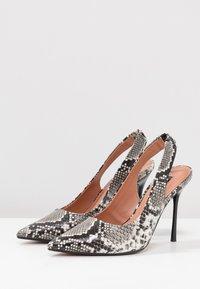 Topshop - GARDEN SLING POINT - High heels - beige - 4