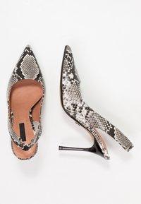 Topshop - GARDEN SLING POINT - High heels - beige - 3