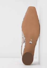Topshop - JUSTIFY SLING COURT - Classic heels - natural - 6