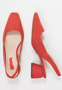 Topshop - JUSTIFY SLING COURT - Classic heels - red - 3
