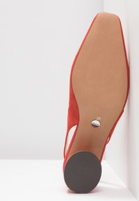 Topshop - JUSTIFY SLING COURT - Classic heels - red - 6