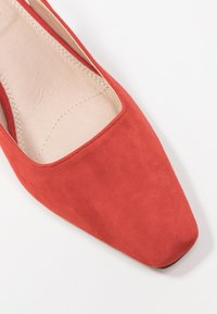 Topshop - JUSTIFY SLING COURT - Classic heels - red - 2
