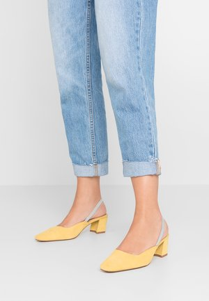 SLING  - Pumps - yellow