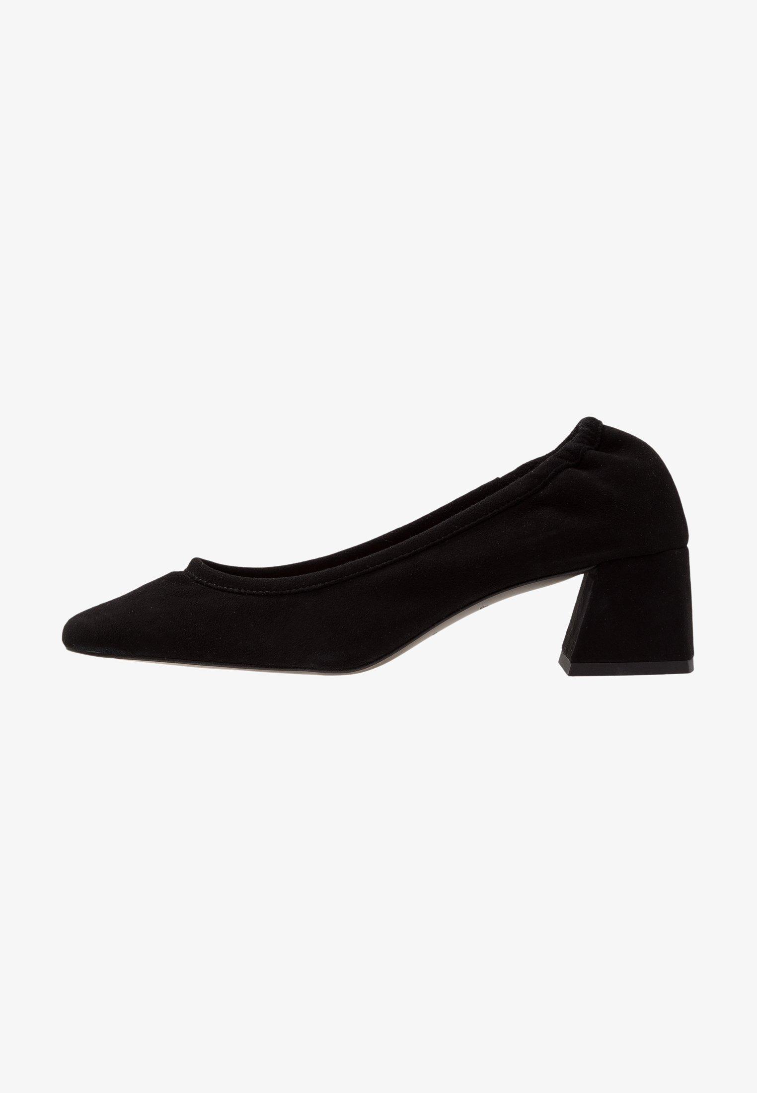 Topshop - JEMIMA SOFT LOW BLOCK HEEL - Classic heels - black