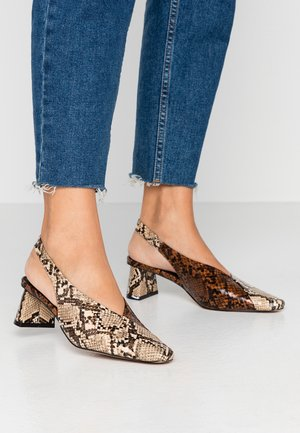 JAGGER SLING BACK - Classic heels - multicolor