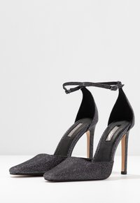 Topshop - GLORIA ELONG SHOE - High heels - pewter - 4