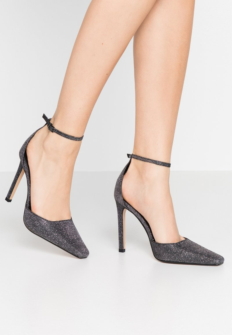 Topshop - GLORIA ELONG SHOE - High heels - pewter
