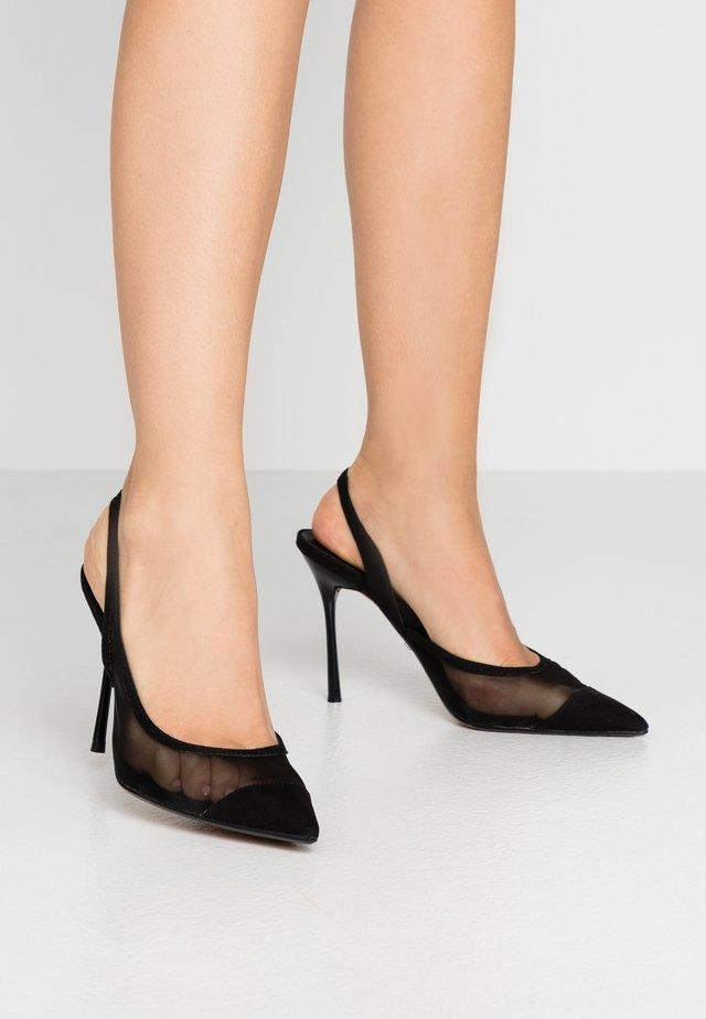 FATE COURT SHOE - High heels - black