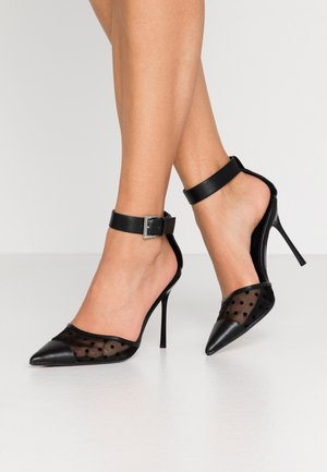 FERN ANKLE STRAP - Zapatos altos - black