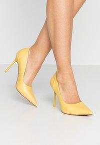 Topshop - FREYA COURT SHOE - High heels - yellow - 0
