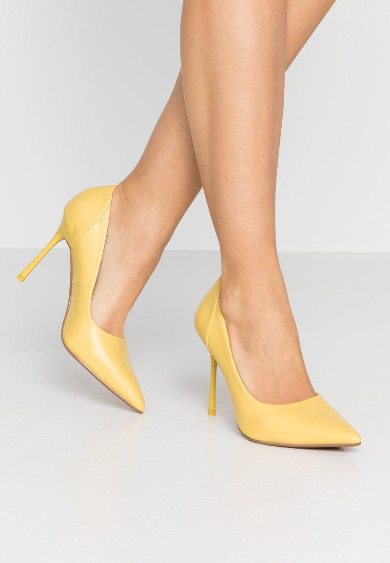Topshop - FREYA COURT SHOE - High heels - yellow