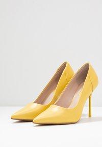 Topshop - FREYA COURT SHOE - High heels - yellow - 4