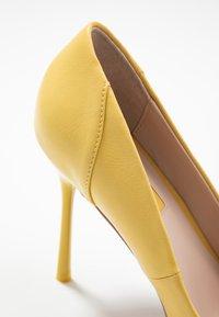 Topshop - FREYA COURT SHOE - High heels - yellow - 2