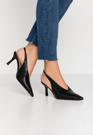 JESSIE POINT SLING BACK - Classic heels - black