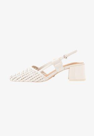JOLLY SLINGBACK - Tacones - white