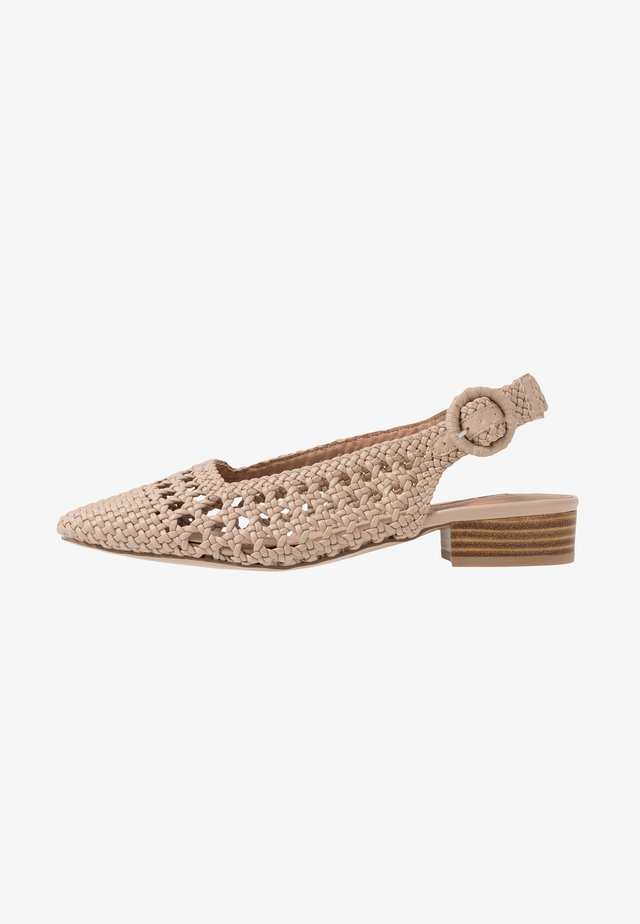 SLING BACK - Avokkaat - cream