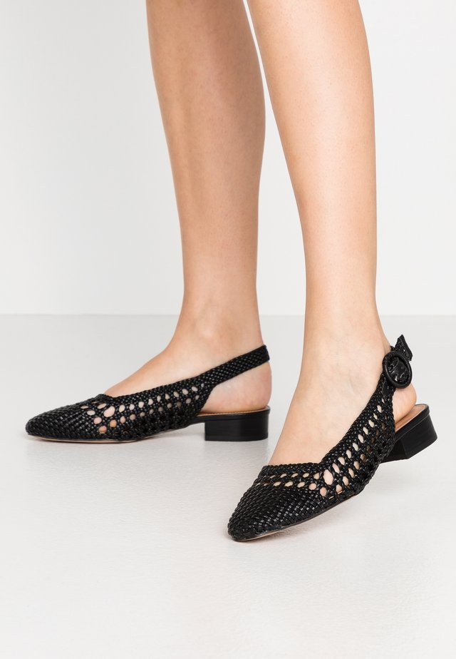 SLING BACK - Avokkaat - black