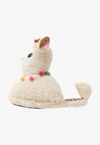 Topshop - LLAMA HOUSE - Slippers - cream - 1