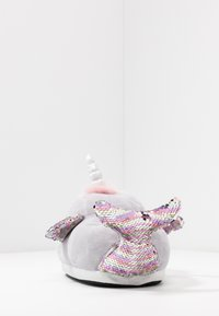 Topshop - NARWHALE HOUSE SLIPPERS - Pantoffels - grey - 5