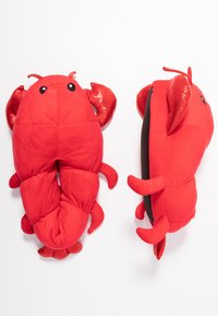 Topshop - LOBSTER HOUSE SLIPPERS - Pantoffels - red - 3