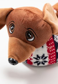 Topshop - SAUSAGE DOG SLIPPERS - Slippers - brown - 2