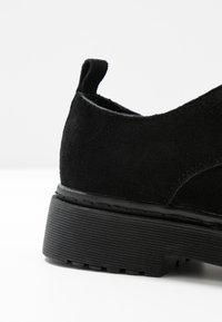 Topshop - ARCHER LACE UP - Šněrovací boty - black - 2