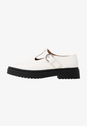 ACE CHUNKY MARY JANE - Mocassins - white