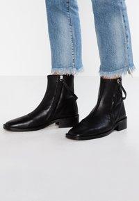 Topshop - AUBREY - Classic ankle boots - black - 0