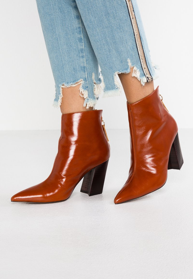 Topshop - Ankle Boot - tan