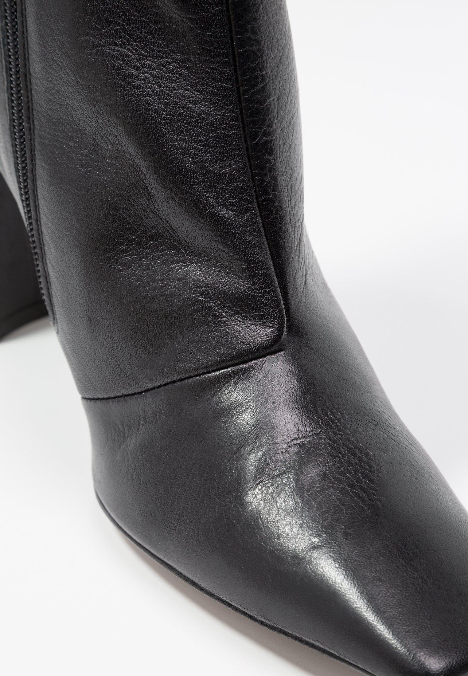 Topshop HENDRIK - Bottines à talons hauts black