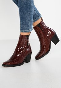 Topshop - MASON - Classic ankle boots - tan - 0